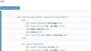 membuat web html membuat template website dengan html dan css urbandistro
