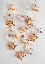 interior de shine string lights in rose gold mod retro vintage