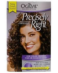 perm photos for thin hair amazon com ogilvie precisely right perm for color treated thin