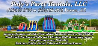 party rentals az poly s party rentals llc about