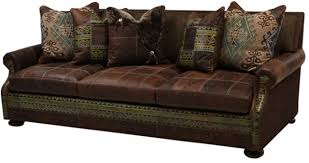 Sofa Leather And Fabric Combined by Living Room Furniture Mixing Leather And Fabric Colorado Style