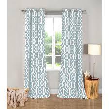 consideration navy geometric curtain panels panel curtains green