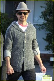 Tony Stark Robert Downey Jr Happy Holidays From Tony Stark Photo 2781346