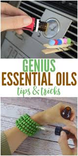 House Hacks by Genius Essential Oil Tips And Tricks