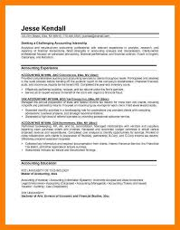 resume cover letter accounting internship eliolera com