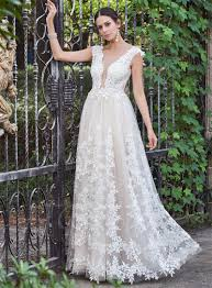 garden wedding dresses beautiful plunging neckline backless garden wedding dresses