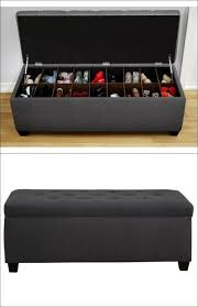 Ottoman Storage Bench Brilliant Gorgeous Ottoman Shoe Storage Shoe Storage Interiorvues