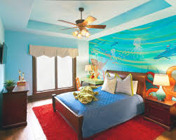 bedroom brown and blue bedroom ideas furniture cool functional and cool kids bedroom designs with floating shelves