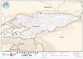 Bishkek Map 2 3 Kyrgyzstan Road Network Logistics Capacity Assessment Wiki