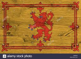royal standard of scotland flag also known as lion rampant of