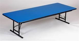 Folding Table Adjustable Height Lifetime Adjustable Height Folding Table