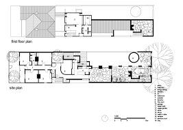 House Site Plan by Gallery Of Park Lane House Kennedy Nolan Architects 11