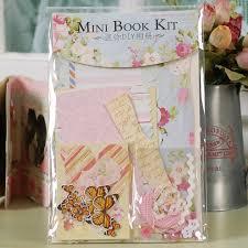 Self Adhesive Photo Albums Aliexpress Com Buy Diy Self Adhesive Mini Book Photo Album Kit
