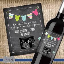 annonce de la grossesse bébé annonce étiquette de bouteille
