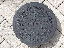 water meter new orleans water meter cover ebay