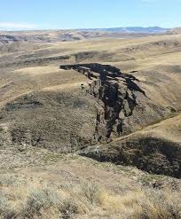 Wyoming mountains images Huge crack opens up in wyoming 39 s bighorn mountains jpg