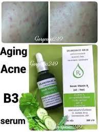 Serum Acne vitamin b3 serum niacinamide anti aging acne skin blemish