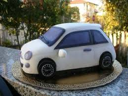 si e auto winnie zuccheri amo torta macchina fiat 500 cake decoration