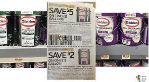 glidden paint coupons walmart deal moola saving mom