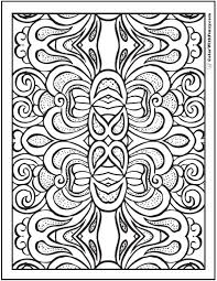gorgeous inspiration pattern coloring pages adults pattern