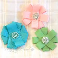 ribbon flowers craftionary