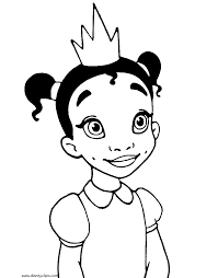 princess frog coloring pages disney coloring book