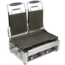 Toaster With Sandwich Maker Cecilware Sg2lg Double Panini Sandwich Grill With Grooved Grill