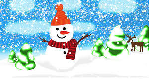 snowman in christmas snow jingle bells song cartoon for kids youtube