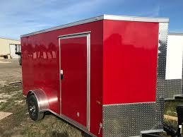 enclosed trailer led lights 6 wide single axle enclosed cargo trailer