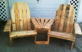Wooden Pallet Bench Wonderful Wood Pallet Outdoor Furniture Ideas Quiet Corner