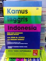 Kamus Bahasa Inggris Jual Kamus Bahasa Inggris Indonesia M Echols Edisi Terbaru