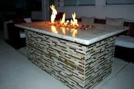 Glass Firepit Designed