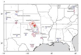 Earthquake Map Usgs Wastewater Injection Causes Oklahoma Earthquake Problem Mogreenstats