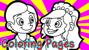 free wedding coloring pages for kids coloring games wedding