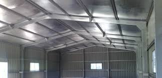 Insulation Blanket Under Metal Roof by Insulating Your Shed U0026 Retrofitting Shed Insulation Steel Sheds