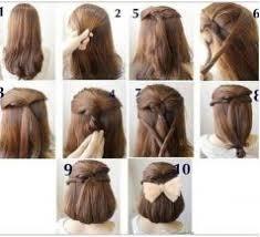 tutorial menata rambut panjang simple 42 cara mengikat rambut panjang yang simple dan sederhana