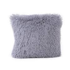 taie d oreiller pour canapé en peluche en cachemire coussins ensembles taies d oreiller pour