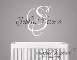 Personalized Wall Decals For Nursery Nursery Wall Decals Name Wall Decal For Boys