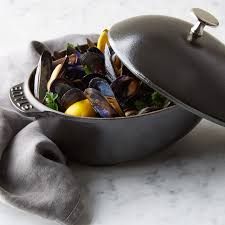 staub black friday staub cast iron mussel pot williams sonoma