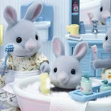 Calico Critters Bathroom Set School Daycare