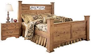 king poster bedroom set bittersweet king poster bed ashley furniture homestore