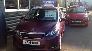 2014 peugeot 108 3 door 1 0 active va14 uhb at st peter u0027s peugeot