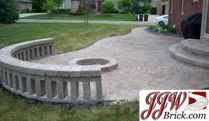 Brick And Paver Patio Designs Patio Brick Pavers Patio With Pavers Paver Patio Shelby Twp Mi