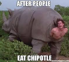 Chipotle Memes - after people eat chipotle meme jim 37401 memeshappen