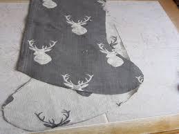 Homemade Christmas Stockings by No Sew Christmas Stocking