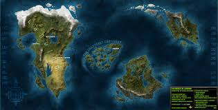 Blank Fantasy World Map by Blank Fantasy Map Generator Special Offers