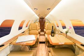 Private Jet Interiors Ideas U0026 Tips Inspiring Private Jet Interior With Yellow Leather