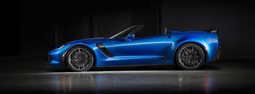 kerbeck corvette reviews 2016 chevrolet corvette z06 convertible blue side view 1647
