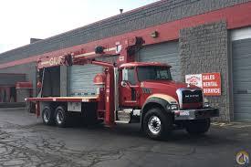 mack trucks for sale rental fleet 28 ton on mack truck crane for sale in milwaukee