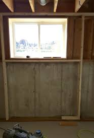 Spray Foam Insulation For Basement Walls by Turtles And Tails Basement Wall Framing U0026 Insulating